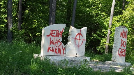 World Jewish Restitution Organization Condemns Vandalization of Commemorative Monument in Poland